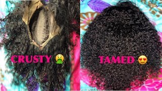 HOW TO: RESTOREREVIVE OLD CURLY WIG IN UNDER 15 MINUTES