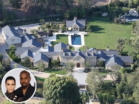 Kim Kardashian Kanye West New House Tour 2016