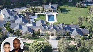 Kim Kardashian & Kanye West New House Tour - 2016