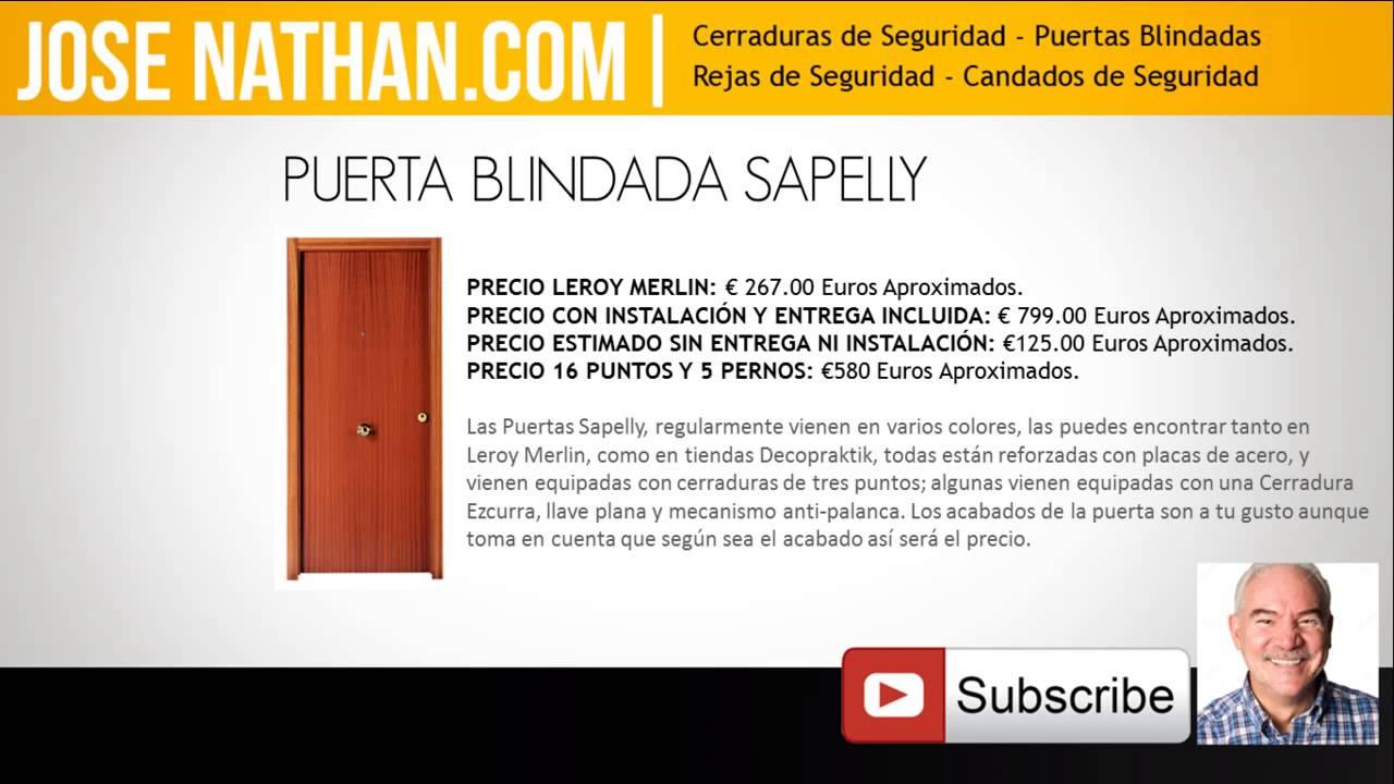 Puertas blindadas precios - Precio de puertas blindadas ...