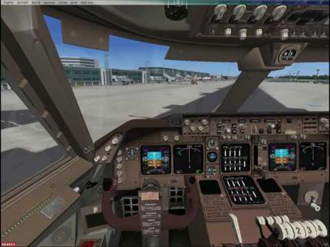 Parking Boeing 747-400 Frankfurt!!