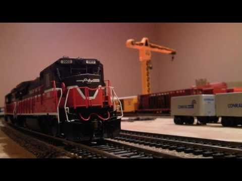 [HD] Railfanning the Layout: A Day on the Providence & Worcester Railroad