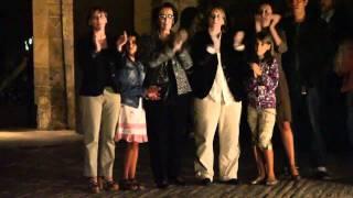 Homenaje a Labordeta en La Aljafería - Albada
