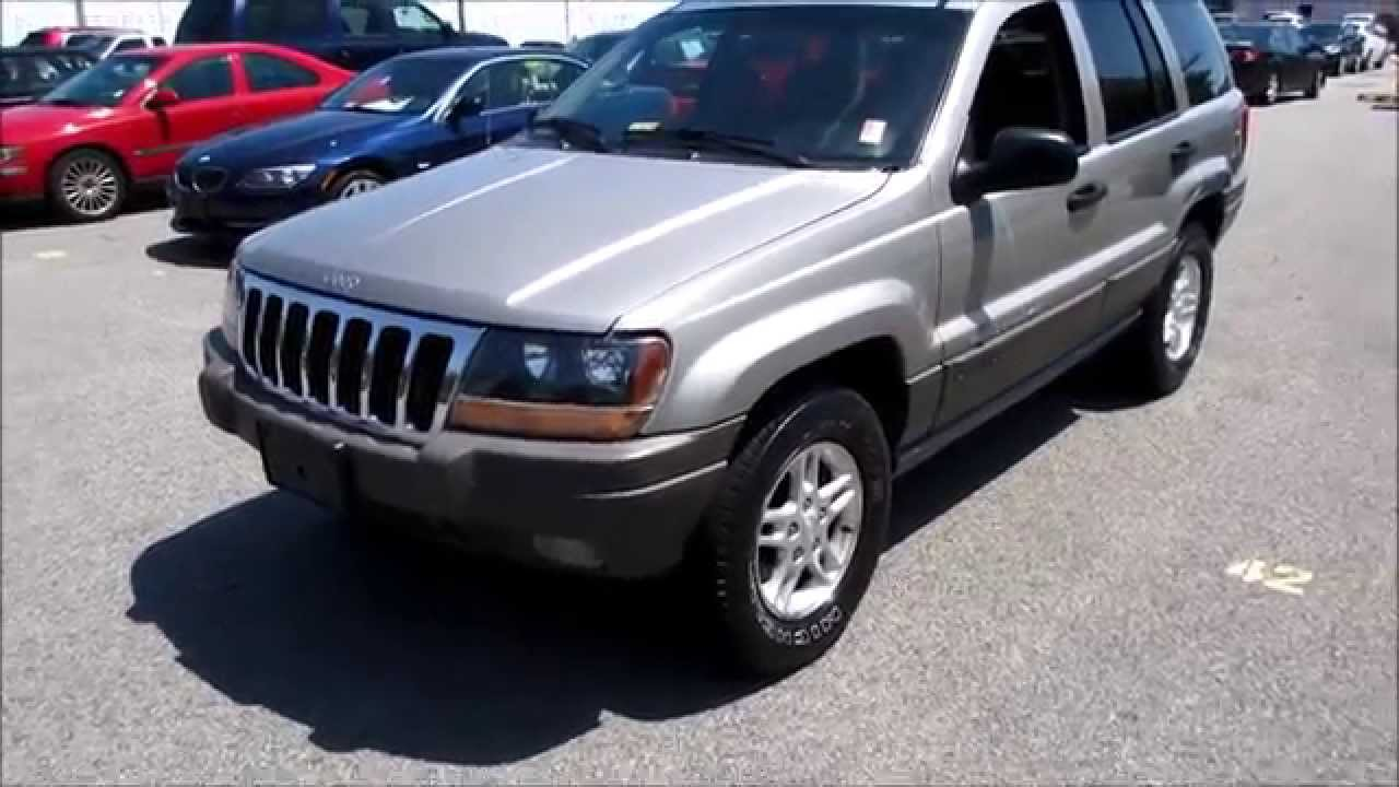 2002 Jeep Grand Cherokee Laredo Walkaround Start up Tour and