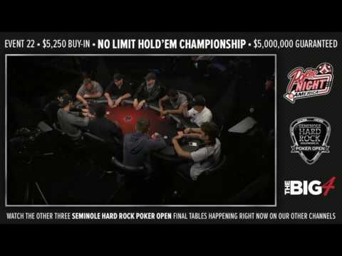 The Big 4 - Live Stream - 08-16-16 - SHRPO Championship - Seminole Hard Rock - Hollywood, FL - 동영상
