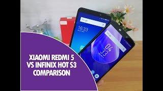 Xiaomi Redmi 5 vs Infinix Hot S3 Detailed Comparison, Camera and Software
