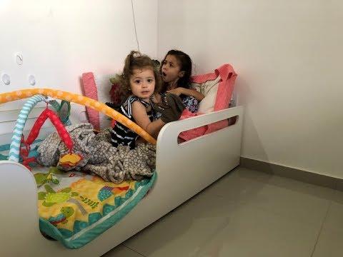 A cama nave espacial da Alice e Sofia
