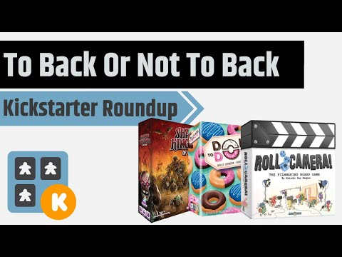 To Back Or Not To Back Roll Camera, Steven Universe, KS Updates and More!!