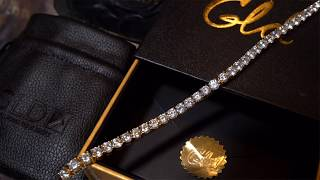 The GLD SHOP REVIEW  Gold Plated CZ Tennis Best On The Market