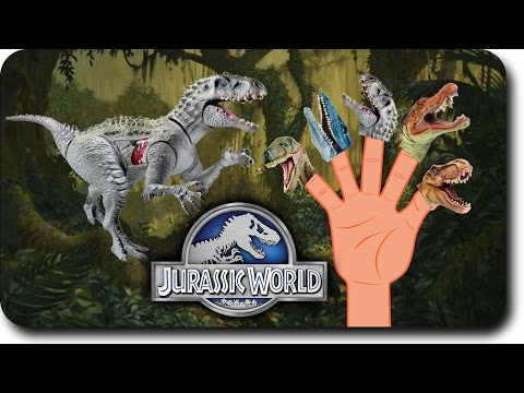 Jurassic world New Dinosaur Finger Family Nursery Rhyme for Childrens Babies and Toddlers | kidss