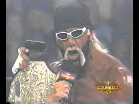 Hollywood Hulk Hogan Coolest NWO Promo With Mean Gene