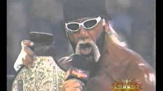 Hollywood Hulk Hogan coolest NWO Promo