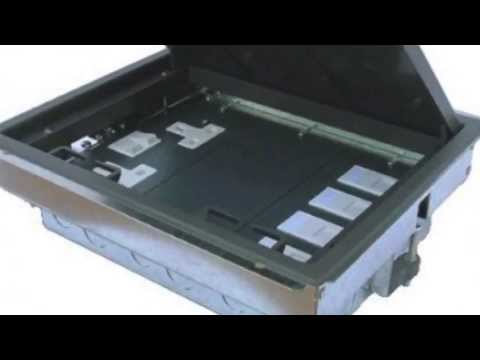 floor boxes and tables boxes - youtube