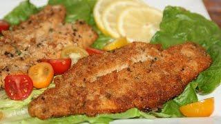 Recette Poisson Pané & Frit - Marinated Fried Fish Recipe - Recettes Maroc