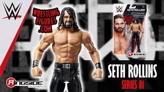 WWE FIGURE INSIDER: Seth Rollins - WWE Series 81