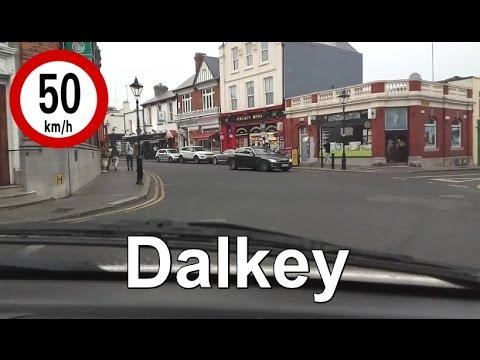 Dash Cam Ireland - Vico Road to Dun Laoghaire, Dublin