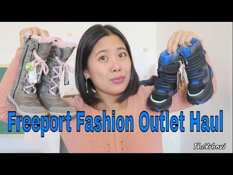 Freeport Fashion Outlet Big Sale Haul   Freeport Outlet Haul