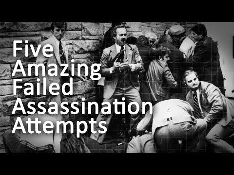 Five Amazing Failed Assassination Attempts