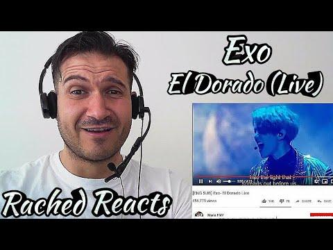 Coach Reaction - Exo - El Dorado (Live)