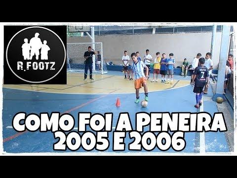 COMO FOI A PENEIRA R.FOOTZ - 2005/2006