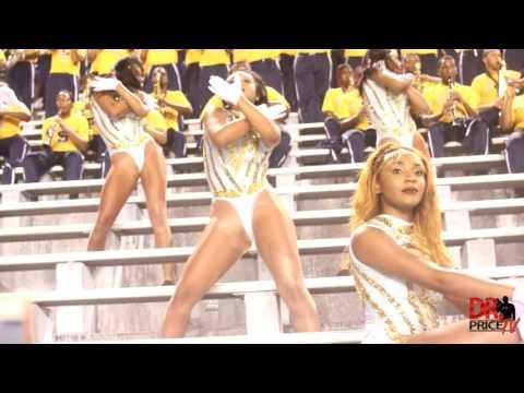 Southern University Dancing Dolls vs Alabama State Stingettes (5th Quarter) 2016