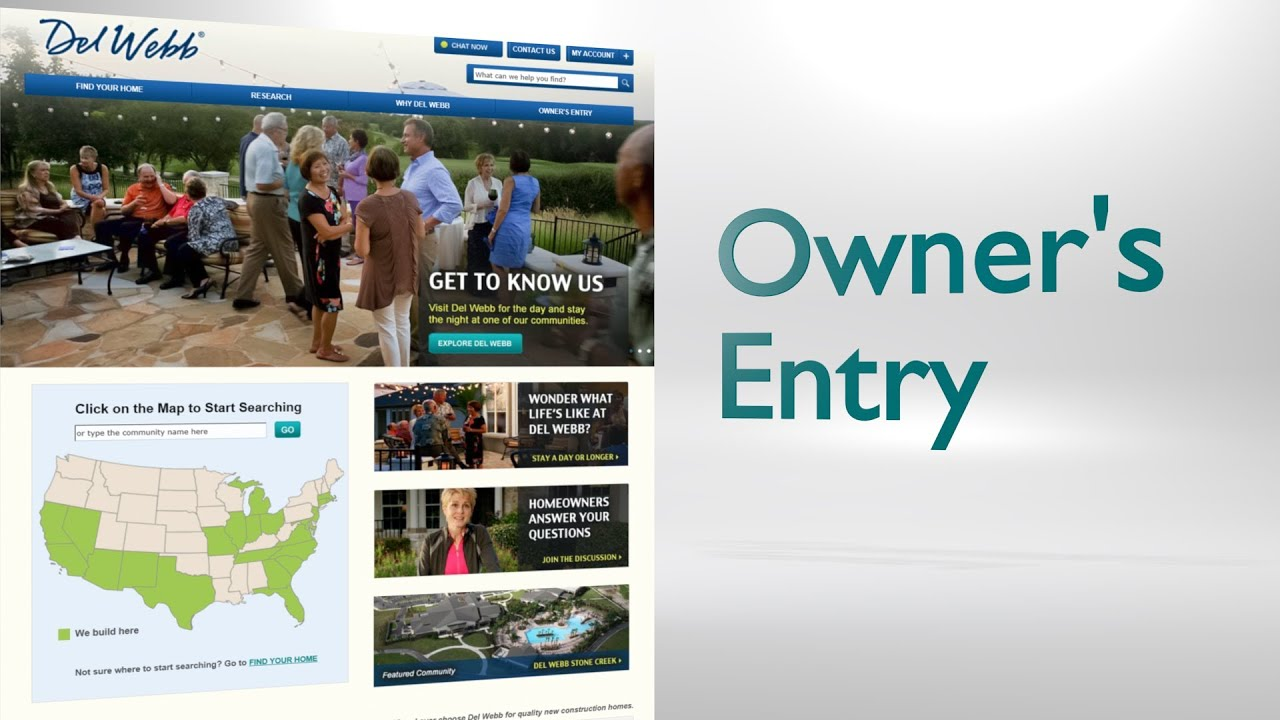 Del webb owner 39 s entry youtube - Portal entree ownership ...