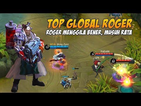 Roger Yang 1 ini Bikin Musuh Putus Asa Top Global Roger Mobile Legends