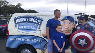 Murphy Sports Sponsorhsip of Superhero Walk