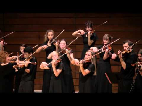 Siskiyou Violins performing La Cumparsita - SOU Recital Hall 2/8/14