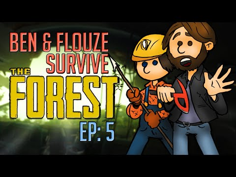 The Forest with Ben E5 - Another Plane Crashes