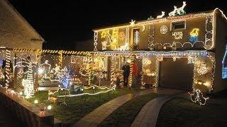 Wyjątkowa świąteczna iluminacja w Krapkowicach