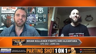 EXCLUSIVE: Brian Kelleher talks UFC debut June 3rd versus.Iuri Alcântara at UFC 212