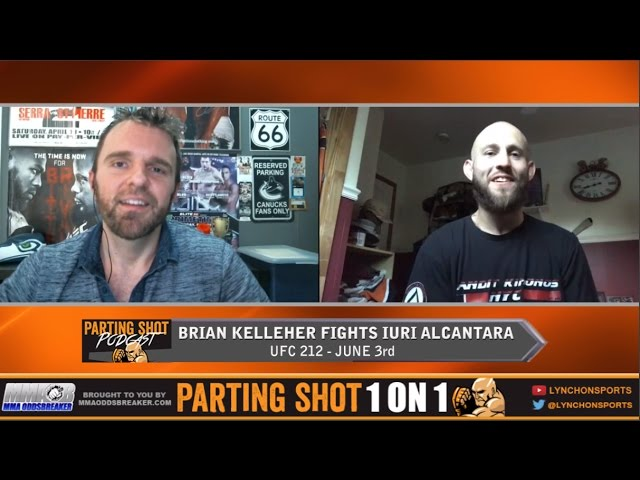EXCLUSIVE: Brian Kelleher talks UFC debut June 3rd versus.Iuri Alcântara at UFC 212