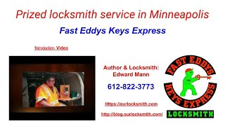 Prized locksmith service in Minneapolis