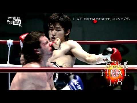 K-1 WORLD MAX, June 25-15:30(JST) YouTube LIVE!!