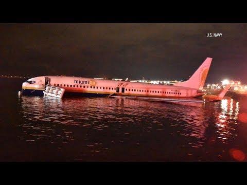 Eugene - Avión CAE en río de la Florida con 143 PASAJEROS