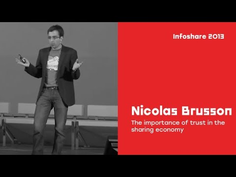 infoShare 2013: Nicolas Brusson - The importance of trust in the sharing economy.[EN]