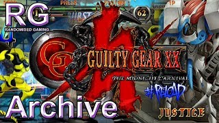 Guilty Gear X2 #Reload - Xbox - Intro & Arcade gameplay as Justice [Archive video]