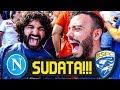 SUDATA!!! NAPOLI 2-1 BRESCIA | LIVE REACTION SAN PAOLO HD
