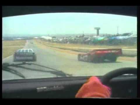 Onboard Jim Busby at Riverside - 1985 (Porsche 962)