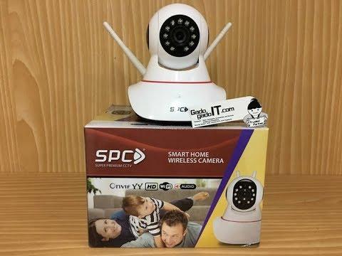 SPC IP Cam CCTV Wifi Wireless Portable Smart Baby Camera -BEST SELLER-