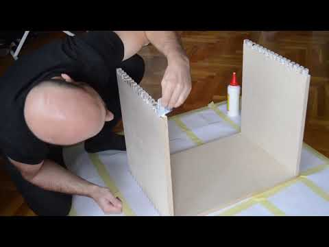 JBL C36/C38 Hifi Cabinet Build Part 1