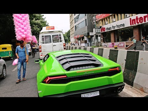 SUPERCARS IN INDIA (BANGALORE) JULY 2017