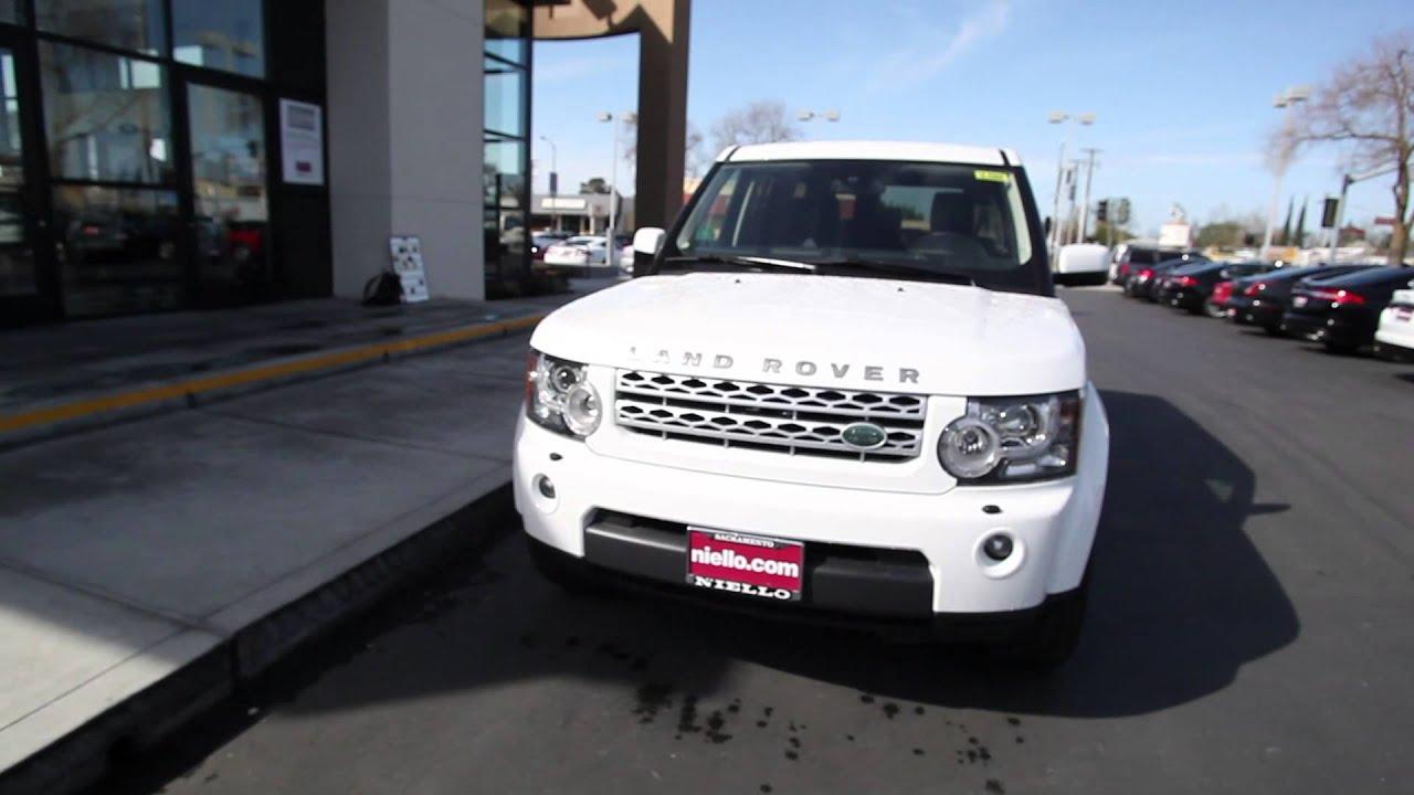 2011 Land Rover Lr4 Hse Land Rover Sacramento Fuji White Youtube