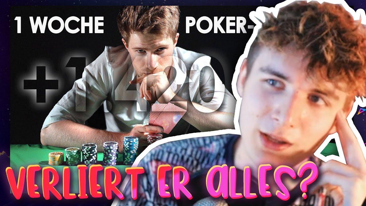 Mit POKER Geld verdienen? Tomary 1 WOCHE Poker Profi ...