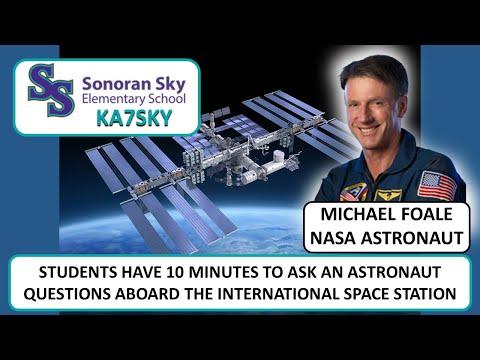 Sonoran Sky Elementary School - Amatuer Radio on the International Space Station