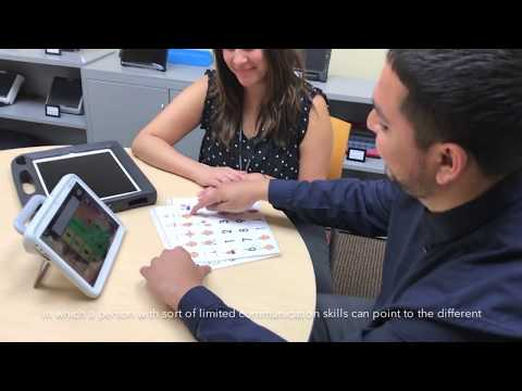 Alternative and Augmentative Communication at Goodwill's Assistive Technology Exchange Center