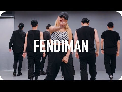 Fendiman - Jackson Wang / Isabelle Choreography