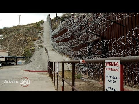Arizona 360: Nogales Concertina Wire, Fundraising For Border Wall, Immigrant Crime Rates