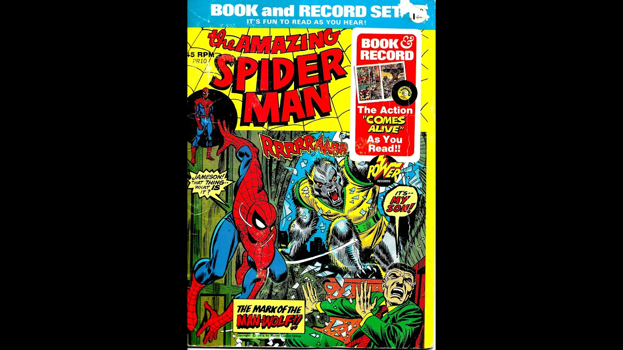 The Bizarre Adventures of Spider-Man on Power Records - Geek com